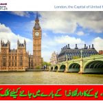 Capital of UK London